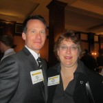 Amy Pehrson with Kent Stuart '87