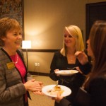 Laura Bowyer chats with some E/M majors